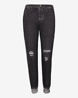 rag & bone/JEAN Miramar Digital Print Sweatpant Jean: Holy Rock