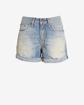 rag & bone/JEAN Surfer Repair BF Short