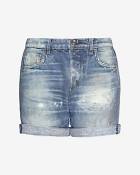 rag & bone/JEAN EXCLUSIVE Miramar Denim Sweat Short