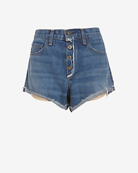 rag & bone/JEAN EXCLUSIVE Weston Exposed Fly Short