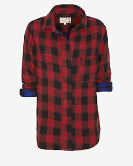 rag & bone/JEAN Buffalo Plaid Shirt