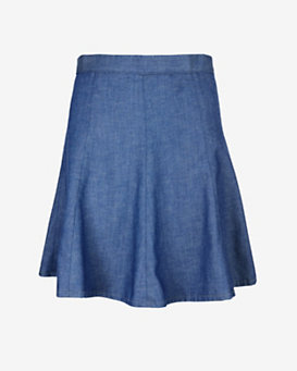 rag & bone/JEAN Suki Denim Flip Skirt