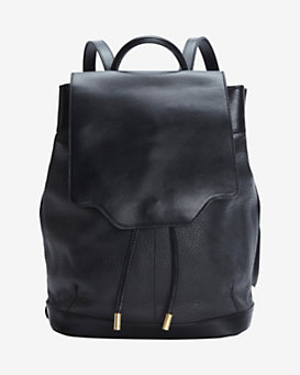 rag & bone Pilot Leather Backpack:Black