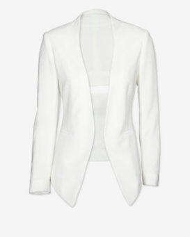 rag & bone EXCLUSIVE Teresa Cut Out Back Blazer: White