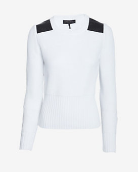 rag & bone Ciara Patch Detail Knit