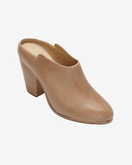 rag & bone Enid Leather Mule: Tan