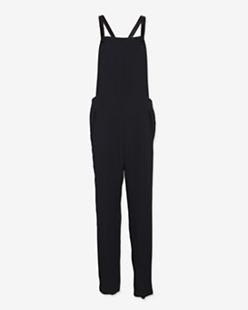 rag & bone Leather Strap Box Overalls