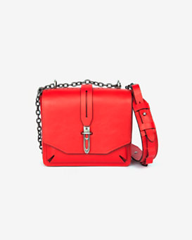 rag & bone Mini Enfield Shoulder Bag: Red