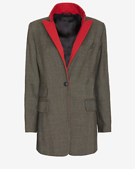 rag & bone Paloma Colored Lapel Blazer