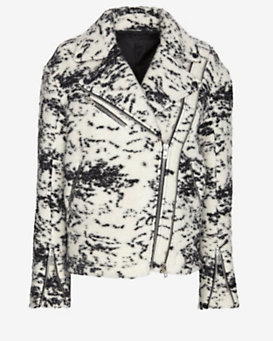 rag & bone Monaco Oversized Moto Jacket