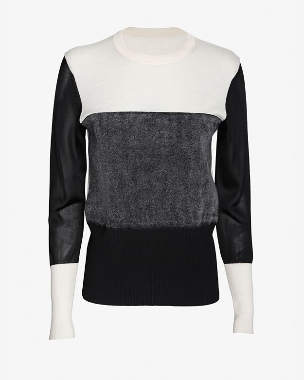 rag & bone Tri-Color Pullover