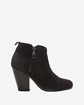 rag & bone EXCLUSIVE Margot Double Zip Bootie: Asphalt