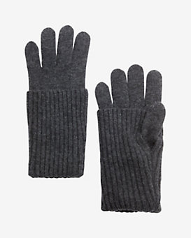 rag & bone Cece Long Cuff Knit Gloves