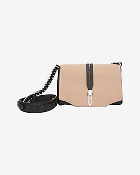 rag & bone Mini Enfield Shoulder Bag: Nude