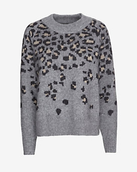 rag & bone Isadora Leopard Pattern Sweater