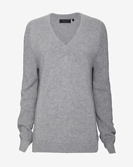 rag & bone Valentina Long-Sleeve V-Neck Sweater