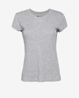 rag & bone/JEAN Classic Tee: Heather Grey