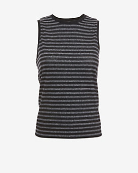 rag & bone/JEAN Striped Muscle Tank