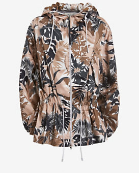 rag & bone Garrison Printed Hooded Jacket