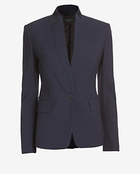 rag & bone Archer Stand-Up Collar Blazer