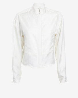 rag & bone Lily Crop Blouse
