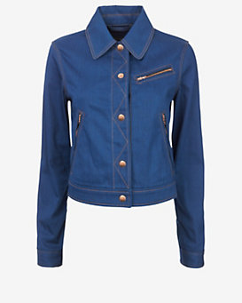 rag & bone Daley Cropped Denim Jacket