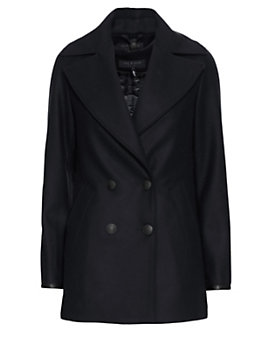 rag & bone Token Peacoat: Navy