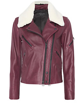 rag & bone EXCLUSIVE Minerva Leather Jacket