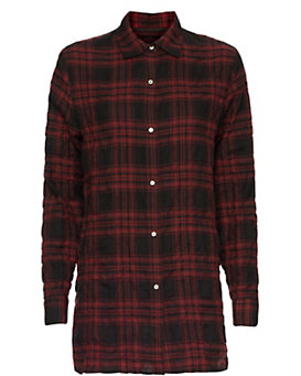 rag & bone Plaid Shirtdress