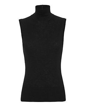 rag & bone Briony Knit Turtleneck: Black