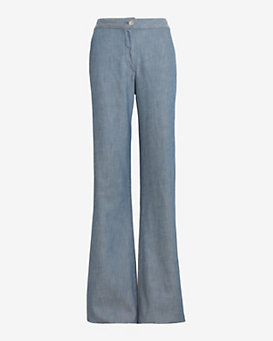 3X1 EXCLUSIVE High Rise Denim Trouser