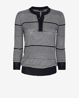 Joseph Cashmere Stripe Sweater
