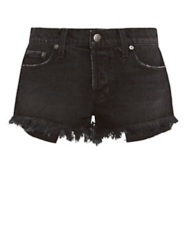 Ksubi Albuquerque Cut Offs: Black