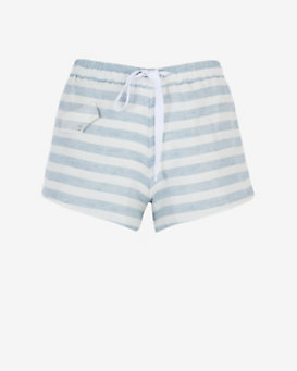 Solid & Striped Striped Lounge Shorts