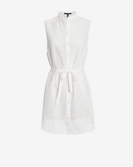 Marissa Webb Frida Eyelet Mini Dress