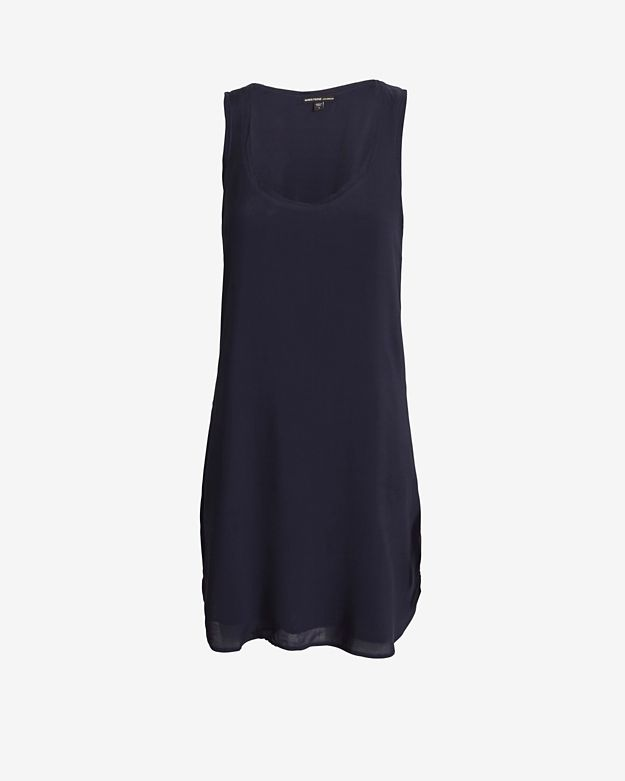 James Perse A-Line Tank Dress: Navy