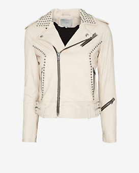 IRO Wenda Studded Leather Jacket