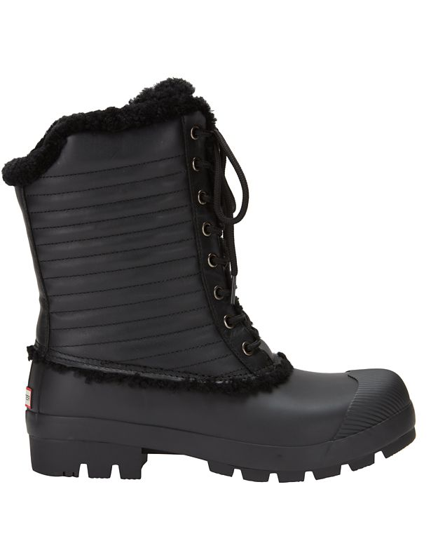 Hunter Original Patent Snow Boot: Black