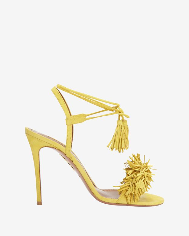 aquazurra-wild-thing-fringe-suede-sandal by aquazurra