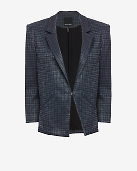 Marissa Webb Maximilian Tweed Jacket