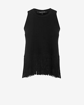 Timo Weiland EXCLUSIVE Fringe Trim Knit Tank