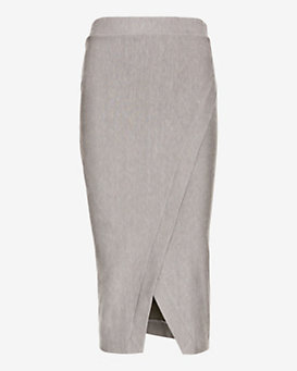 Enza Costa Midi Wrap Skirt