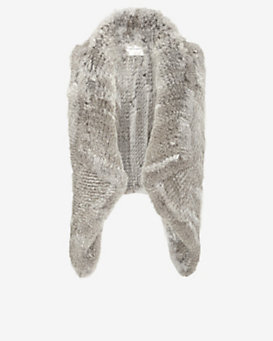 Yves Salomon Asymmetric Fur Vest