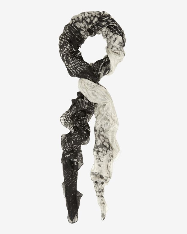 Yigal Azrouel Graphic Texture Scarf