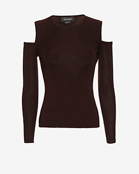 Yigal Azrouel EXCLUSIVE Cold Shoulder Knit