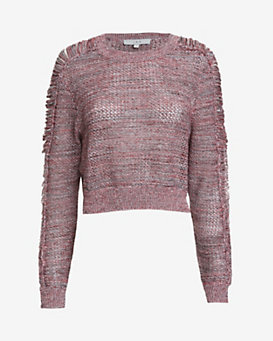 IRO EXCLUSIVE Yoav Marled Knit Top