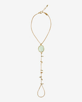 GAS Bijoux Amazonite Beaded Handchain