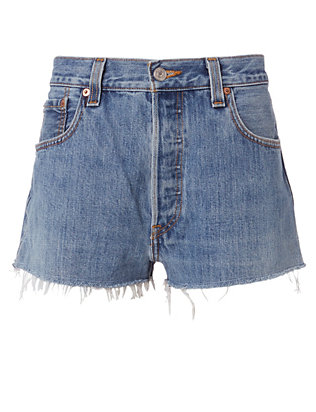Clean Denim Cut Off Shorts