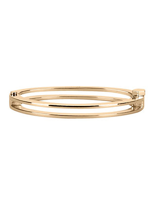Split Layer Cuff: Gold