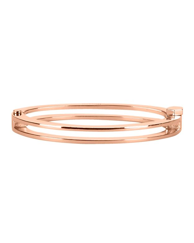 Miansai Split Layer Cuff: Rosegold